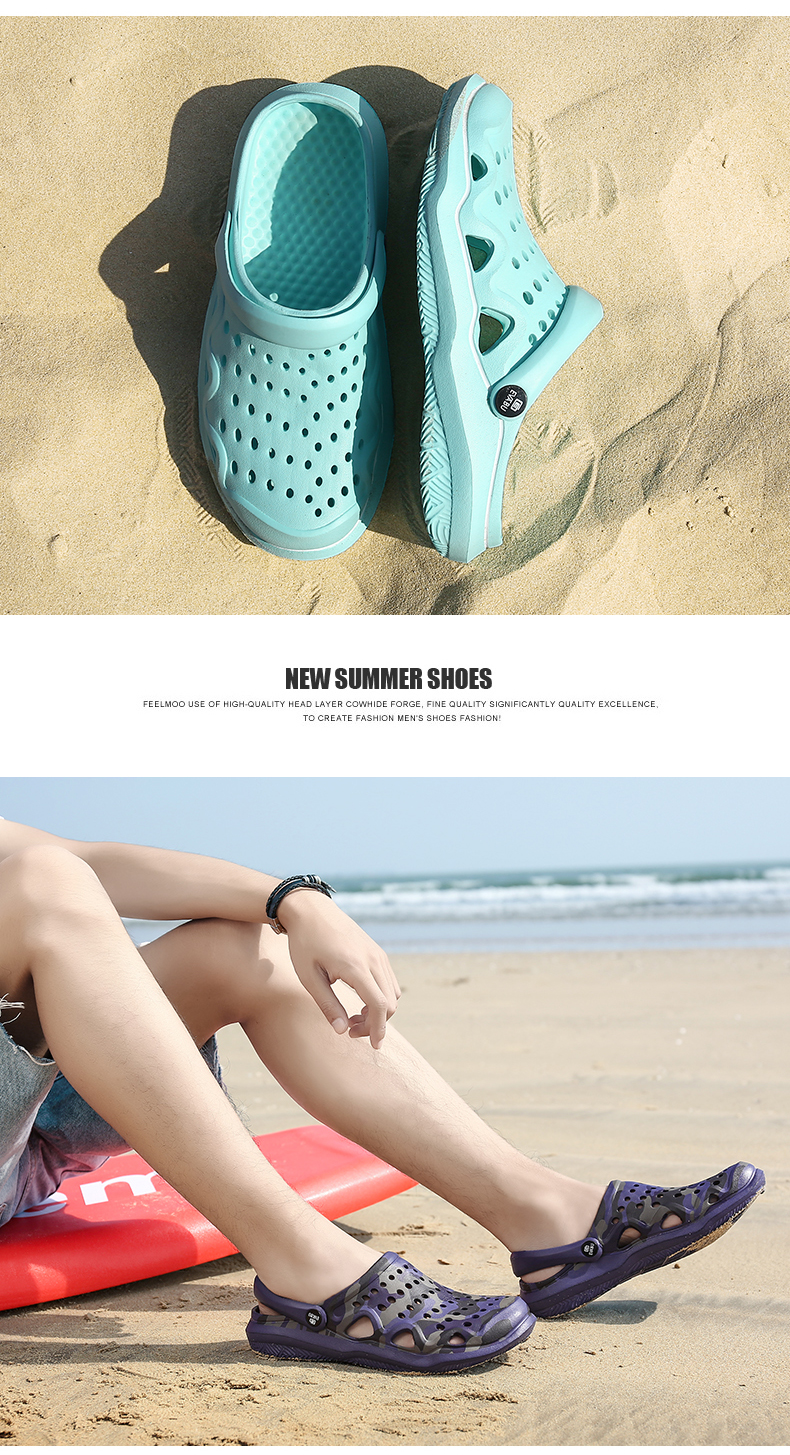moda praia sandálias casuais unissex plana deslizamento