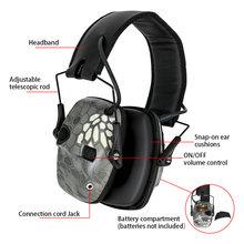 Электронные Наушники Защита слуха защитные наушники для уличного