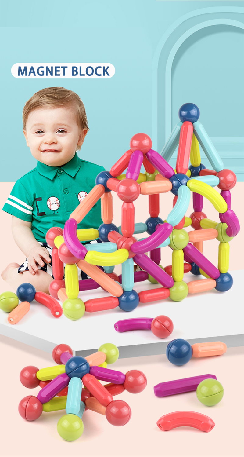 Magnetic Balls and Rods Set