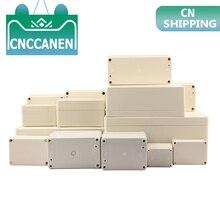Caja de instrumentos de Caja de plástico a prueba de agua, caja de proyecto electrónico, caja de empalmes para exteriores