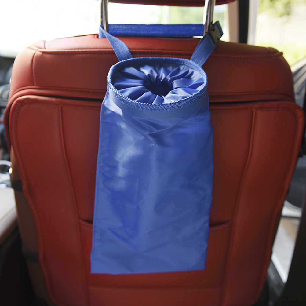 1 adet araba arka koltukta asılı organizatör çok cep düzenleyici yıkanabilir yardımcı enkaz saklama çantası araba kullanımı için
