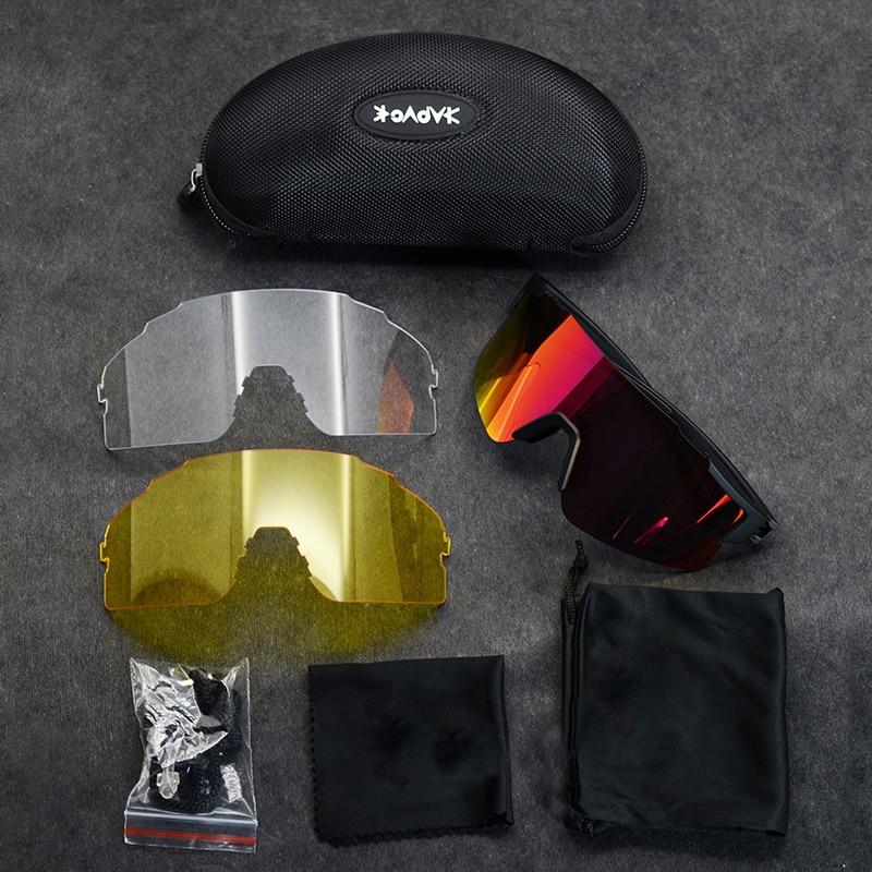 Cycling glasses Men&Women road bike sunglasses 2019 sport riding running eyewear UV400 goggles bicycle mtb fietsbril for Running 5