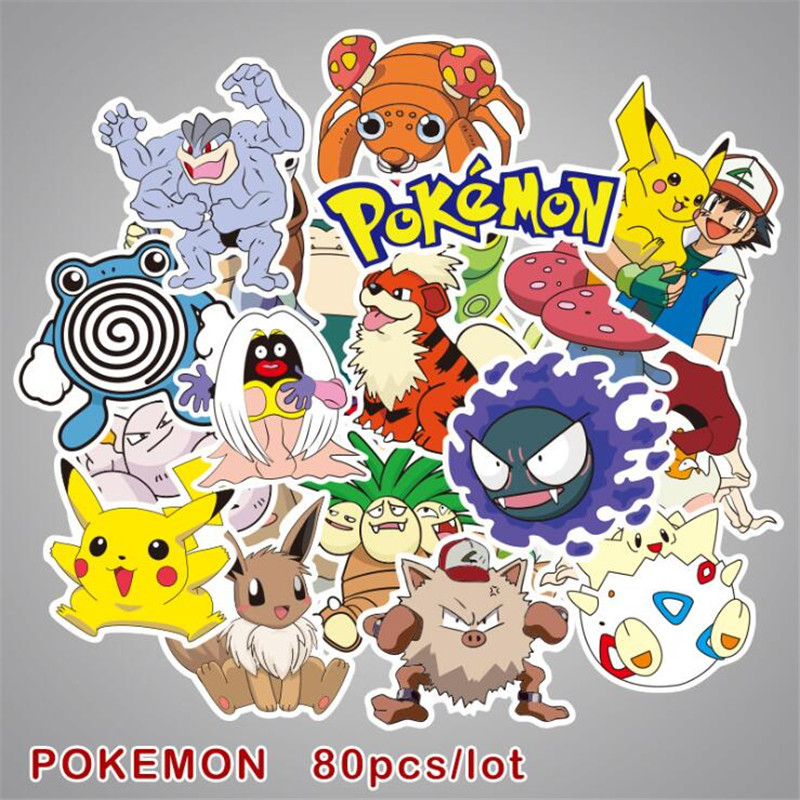 80pcs-anime-game-font-b-pokemon-b-font-sticker-paster-cartoon-cute-scrapbook-craft-decor-cosplay-costumes-props-accessories-badge-sticker-set