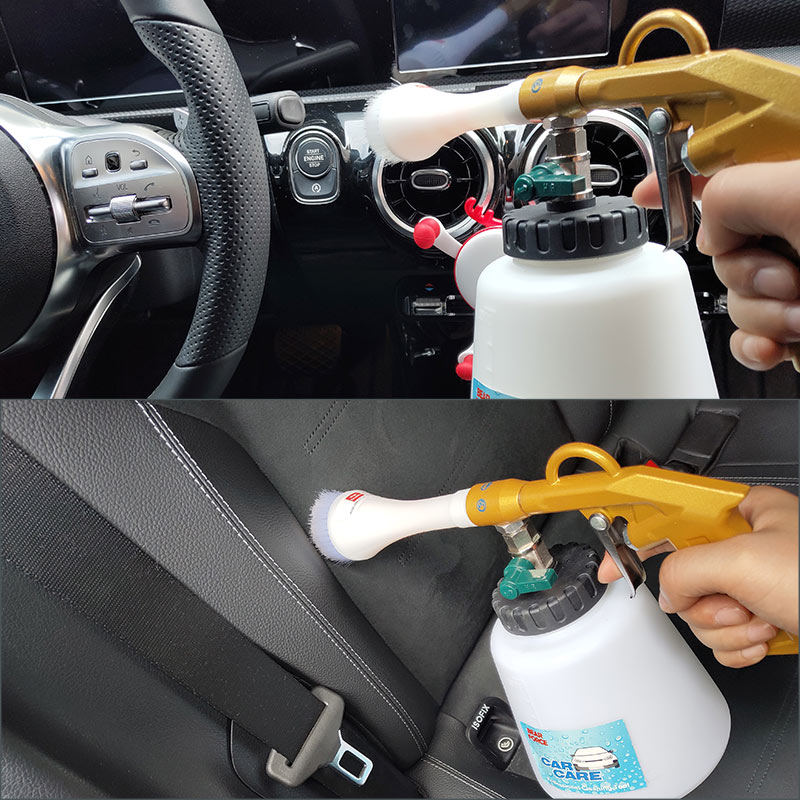 Image 5 - Tornado Pneumatic Air Compressor Foam Gun Car Interior Cleaning Gun Tornado Espuma Tool Car Detailing Tool-in Water Gun & Snow Foam Lance from Automobiles & Motorcycles