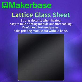 Запчасти для 3D-принтеров теплоизоляционная решетка стеклянная платформа ultraase стеклянная Тепловая кровать легко тянет печатную модель на з...