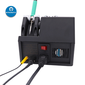Image 2 - Jabe UD1200 Lead Free Precision Soldering Station for Repairing Phone 2.5S Fast Heating Dual Channel Power Supply Heating System