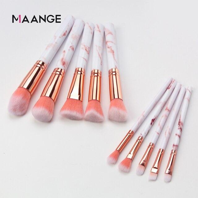 7/10 adet makyaj fırçaları çok fonksiyonlu makyaj fırçası kapatıcı göz farı vakıf 2019 makyaj fırçası seti aracı pincel maquiagem