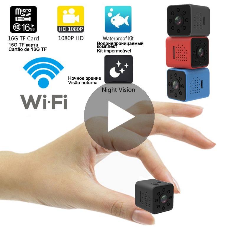 Wi-Fi Micro Home Wireless Video CCTV Mini Security Surveillance with Wifi IP Camera Cam Camara for Phone HD DVR IPcamera Pet Dog image