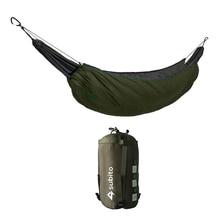 Hammock Sleeping Bag Ultralight Outdoor Camping Hammock Windproof Warm Cover Portable Winter Under Quilt Blanket Cotton Hammock