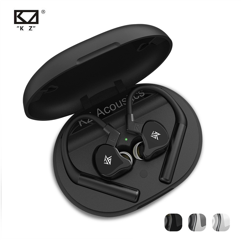KZ E10 TWS bluetooth 5.0 Earphone 10 Units 1DD+4BA Mixed Earbuds HiFi Bass Dual Microphone Noise Reduction Headset with Mic image