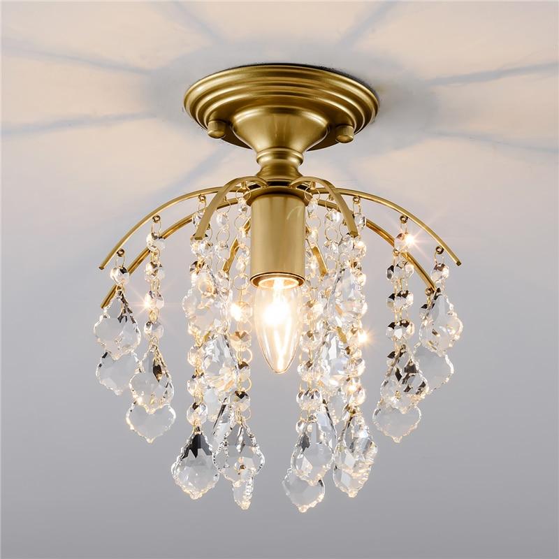 Modern Crystal Chandeliers Indoor Lighting Nordic Home Decoration Luxury Living Room Chandeliers Pedant Lights