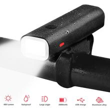 Bike Light Waterproof USB Rechargeable 400 Lumens Bicycle Lamp Front Headlight Flashlight Bicycle Light Bicycle Accessories newboler 600 lumens bicycle light mtb bike headlight led taillight usb rechargeable flashlight cycling lantern for bicycle lamp