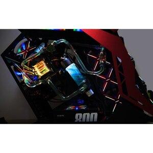 Image 2 - ALSEYE XTREME PC Fall DIY Wasser Coolling 360mm Einstellbare RGB ASUS Sync Gigabyte RGB FUSION Unterstützung LGA 115x/AM2/AM3/AM4