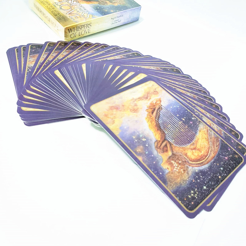 Whispers Of Love Cards Divination Fate Tarot Deck Board Game 50 Cards English Language Tarot Card 40JP21