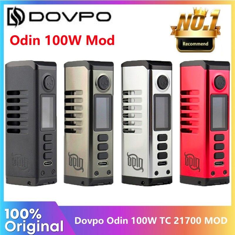 Оригинальный мод DOVPO Odin 100 Вт с TFT-экраном 0,96 дюйма, центральное соединение 510, электронная сигарета, вейп мод vs Gen S/Swag 2, бокс мод