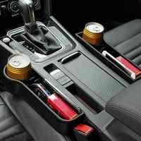Die Neue 1 Paar Universal Auto Auto Sitz Spalt Kunststoff Lagerung Box Tasse Telefon Halter Organizer Vorbehalten design Zubehör
