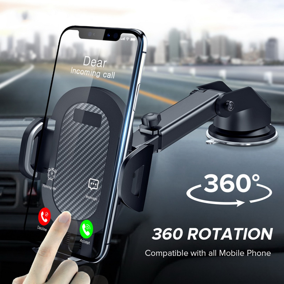 Tendway Gravity Sucker Car Phone Holder For IPhone X Max Xiaomi Holder Car Mobile Support Smartphone Voiture Stand