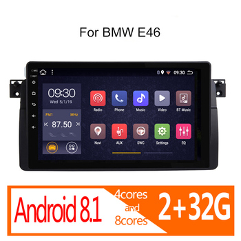 autoradio android 2G+32G for BMW E46 M3 318i 320i 325i 330 335 1998 1999 2000 2001-2005 2006 car radio coche audio auto stereo image