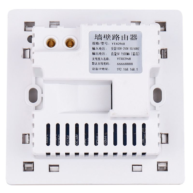 Image 5 - 300Mbps 220V Smart Wireless WIFI Repeater Extender Wall Embedded Router Socket X6HAWireless Routers   -