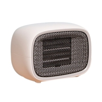 Mini Electric Air Heater 500W PTC Heating Stove Radiator Warmer Fan for Office Home Travel US Plug 220V