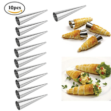 Cream-Horn Baking-Tool Conical-Tube Cone-Roll Cookie Home Kitchen Molds Dessert Croissants