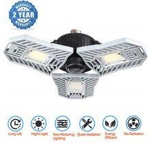 E27 LED Bulbs Tubes 60W Led Deformable Garage Light 360° lighting with 3 Aluminum LED Heads For Home Garages / Basement lighting