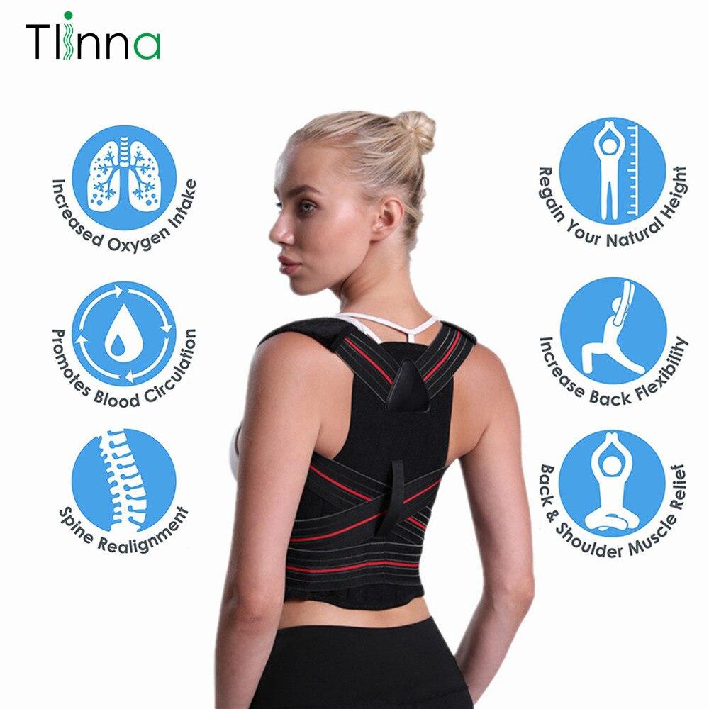 Adjustable Posture Corrector Back Shoulder Lumbar Brace Spine Support Belt Adult Corset Posture Correction Belt Body Health Care