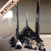 In stock 05049 The Krennics Imperial Shuttle 75156 Building Blocks 898pcs Space ship Toys Bricks Compatible