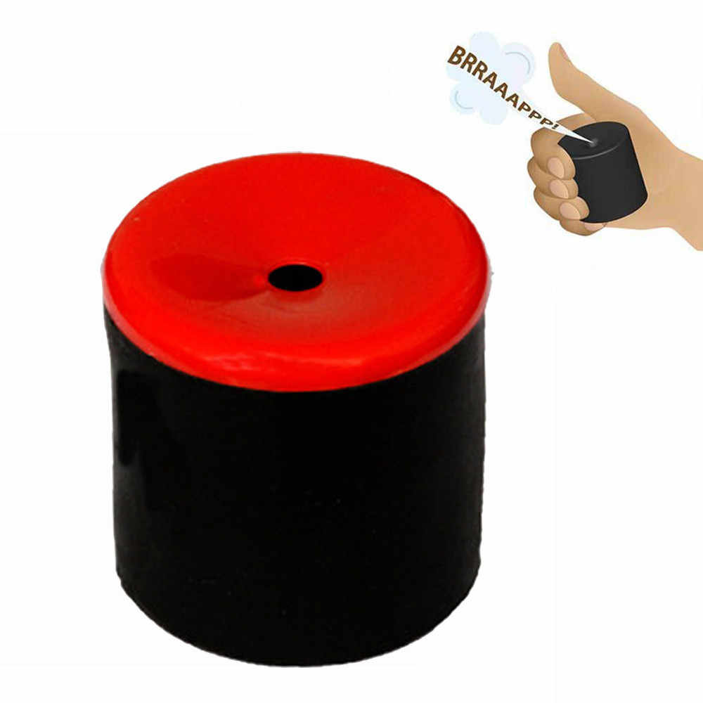 Oluşturun osuruk ses osuruk Pooter Gag şaka makinesi parti sevimli antistres Mini sıkmak stres giderici komik oyuncak yılbaşı hediyeleri