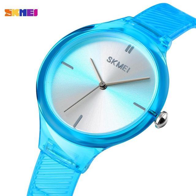 SKMEI נשים שעונים יוקרה למעלה מותגים פשוט קוורץ שעון יד אופנה נשי ילדה שעון Relogio Feminino גבירותיי שעוני יד