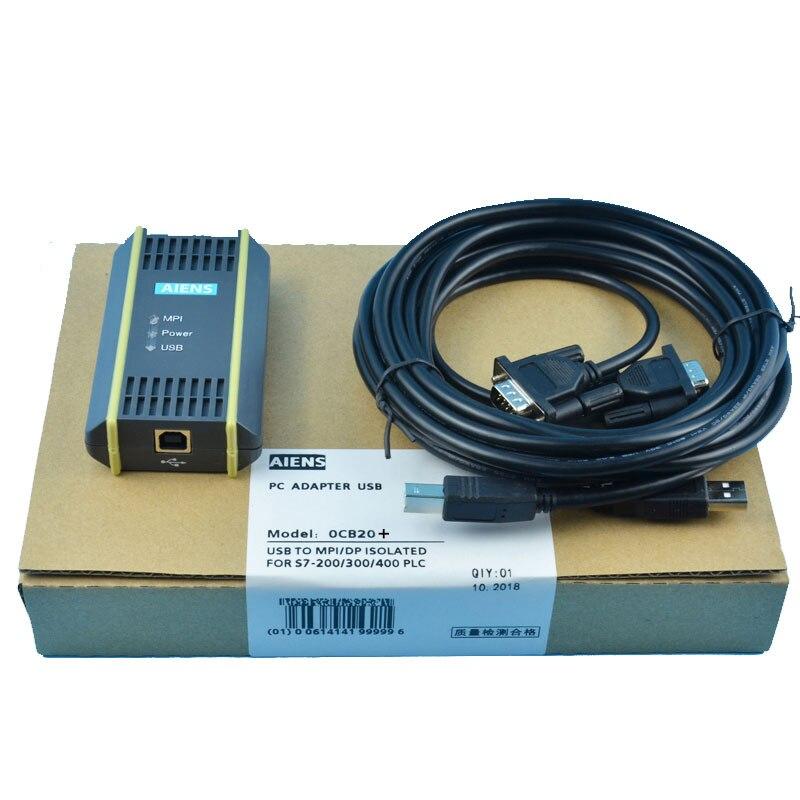 PC USB-PPI DG PLC Cable For Siemens S7 200//300//400 6ES7 972-0CB20-0XA0 USB-MPI