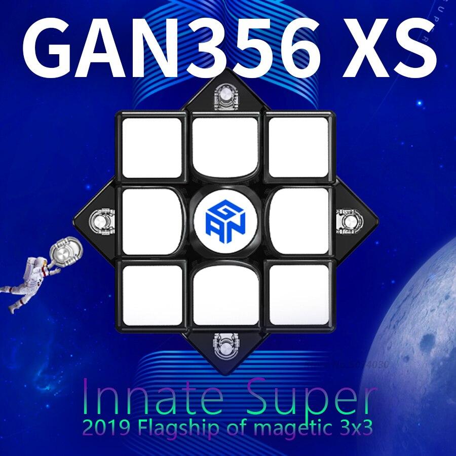 Cube magnétique GAN356xs 3x3x3 Cube magnétique Gan356X S Gan 356xs Cube magnétique 3x3x3 Cube de vitesse magique 3x3 Cubo Magico Gan 356xs Cube de Puzzle
