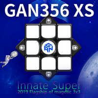 GAN356xs 3x3x3 Magnetic Cube Gan356X S Gan 356xs Magnet Cube 3x3x3 Magic Speed Cube 3x3 Cubo Magico Gan 356xs XS Puzzle Cube