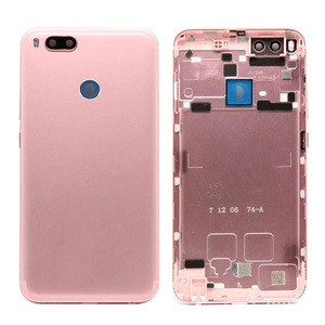 Image 4 - For Xiaomi Mi A1 Battery Cover MiA1 Rear Door Back Housing Case For Xiaomi Mi 5X A1 Battery Cover With Power Volume Button