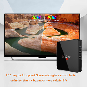 ТВ-приставка на Android 9,0, четырехъядерный процессор AllwinnerH6, мультимедийный проигрыватель на нескольких языках 6K HD с поддержкой Wi-Fi 2,4 ГГц