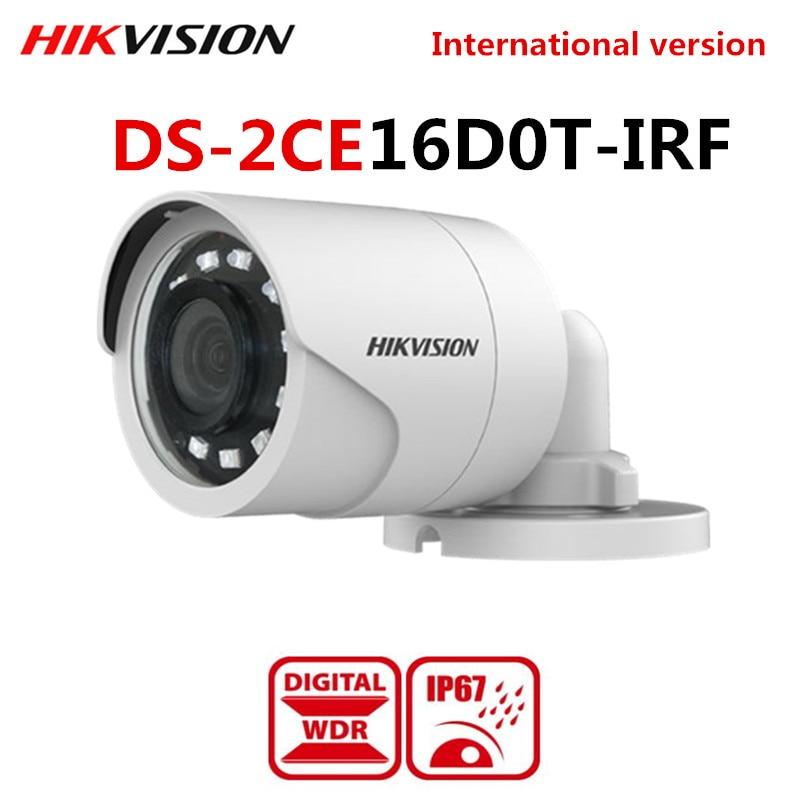 Hikvision HD1080p 4-in1 HD-TVI//AHD//HD-CVI//CVBS IR Bullet Camera DS-2CE16D0T-IRF