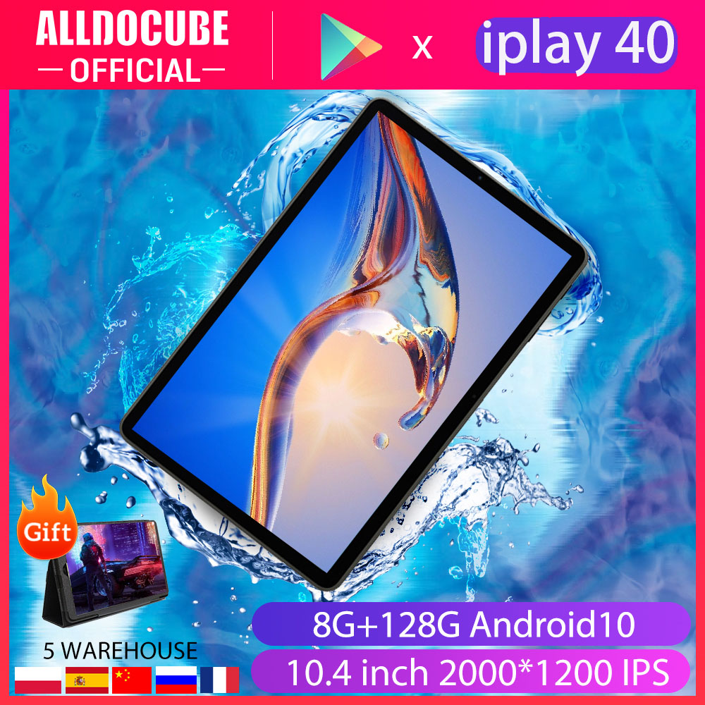 Alldocbe iplay40 10.4 tablet tablet tablet pc 5g wifi 4g lte rede unisoc t618 octa núcleo 8gb ram 128gb rom android 10