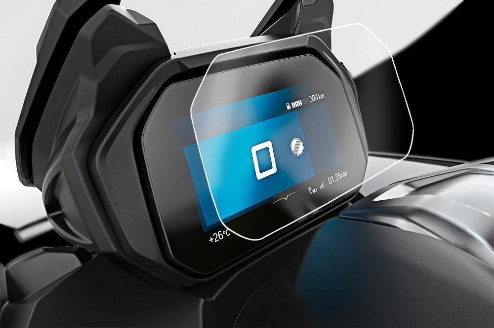 Kodaskin Film Screen Protector Scratch Protection Motorbike Dashboard Screen Instrument Protection For BMW C400X Bmw C400GT