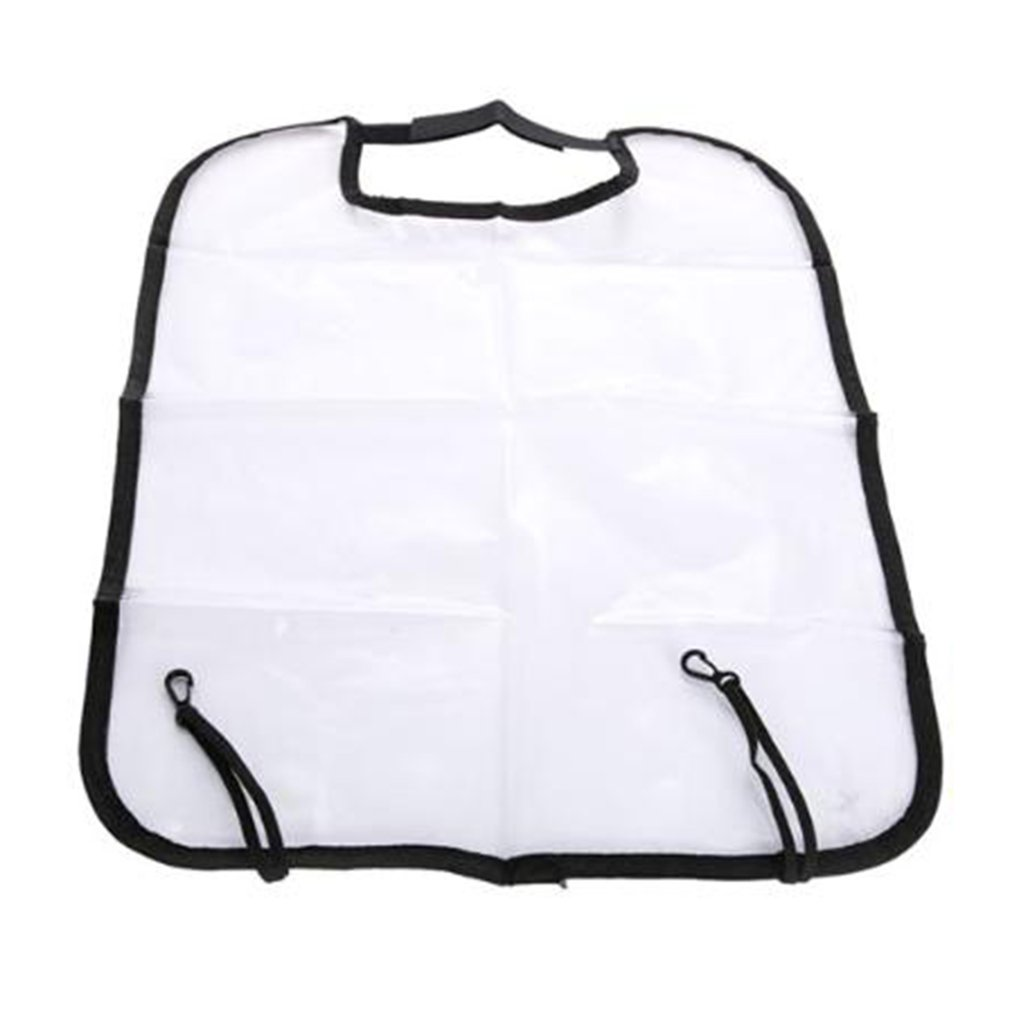 Car Care Seat Protection Backrest Cover Kids Protective Cover Transparent Cleaning Anti-Kick Pad Auto Parts Accessories Hot