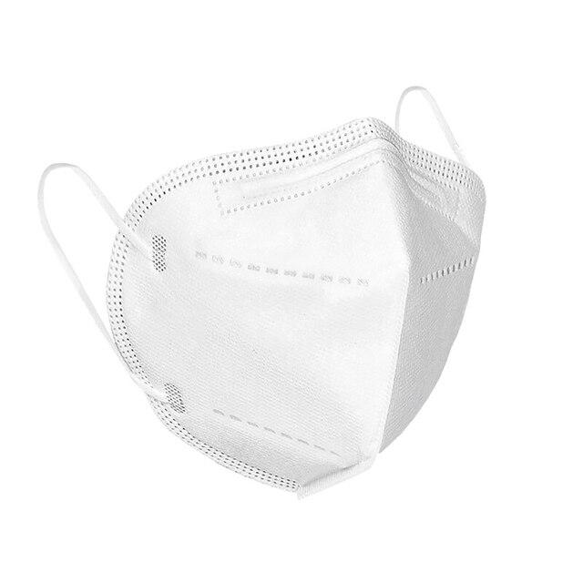 10pcs 5pcs high quality KN95 N95 respirator face mask reusable mouth masks anti virus anti flu filter antivirus with earmuff 5