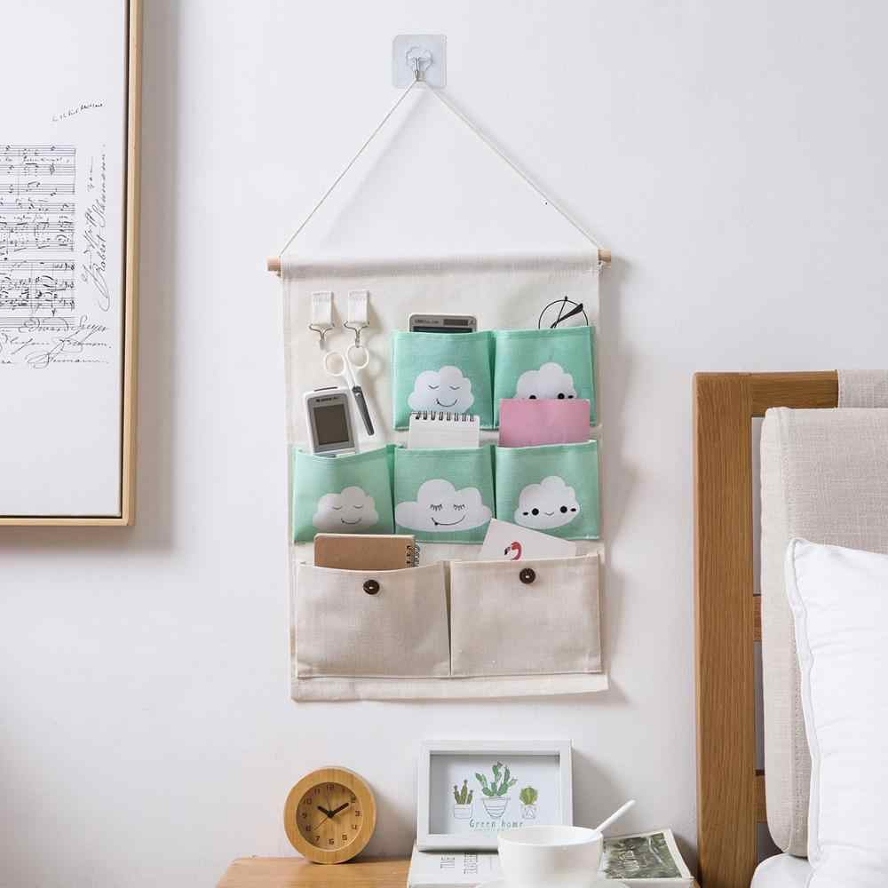 7 Pockets Wall Hanging Storage Bags