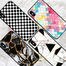 Marble luxury For iPhone X XR XS Max 5 5S SE 6 6S 7 8 Plus Oneplus 5T Pro 6T phone Case Cover Coque Etui funda capinha capa karl lagerfeld for iphone x xr xs max 5 5s se 6 6s 7 8 plus oneplus 5t pro 6t phone case cover funda coque etui funda capa cute