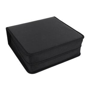 Чехол для хранения дисков CD DVD из искусственной кожи, 400 штук, сумка-Органайзер, сумка для хранения книг, Прямая поставка
