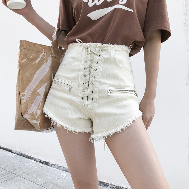 2020 New Autumn And Winter Women's Wild Thin Shorts Casual And Comfortable
