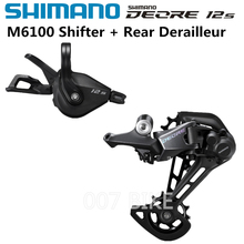 SHIMANO DEORE M6100 Groupse  Mountain Bike Groupset 1x12 Speed M6100 Shifter Rear Derailleur