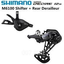 SHIMANO DEORE M6100 Groupse Mountainbike Groupset 1x12 Speed M6100 Shifter Schaltwerk
