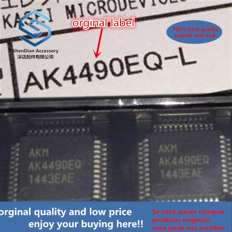 1pcs 100% Orginal New Best Qualtiy AK4490 AK4490EQ LQFP-48 AK4490EQ QFP AK4490 QFP
