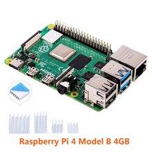 Auf Lager! Raspberry Pi 4 Modell B 4GB RAM Quad core 64-bit 1,5 GHz Bluetooth 5,0