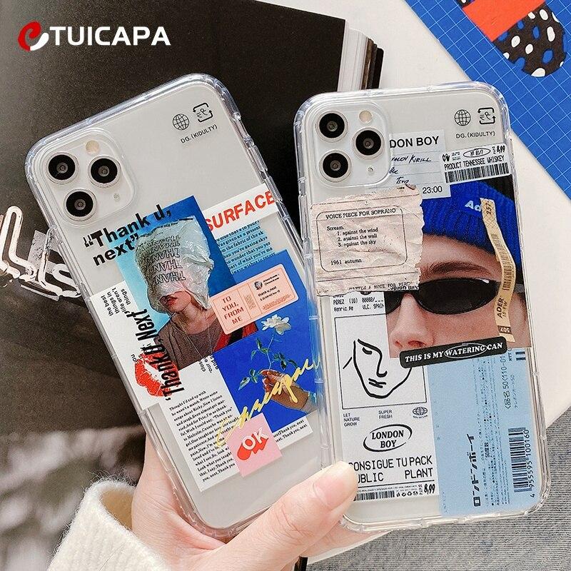 Чехол силиконовый для iphone 11 Pro Max X XS XR 6 6S 7 8 Plus|Бамперы| | АлиЭкспресс