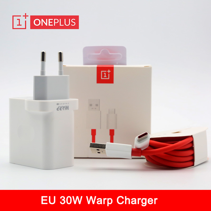 Original Oneplus Charger 30W 7T Pro Mclaren Warp Charger Usb Dash Power Adapter Type C Cable For Oneplus 8 7 Pro 6 6T 5 5T 3 3T